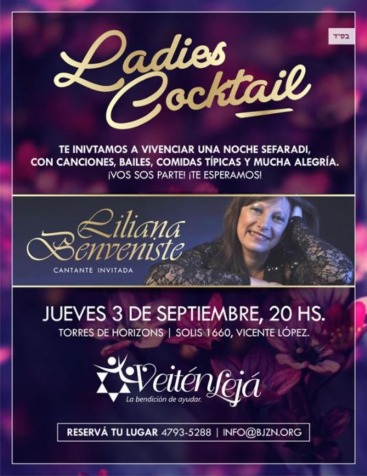 Flyer Ladies Cocktail - Liliana Benveniste.jpg