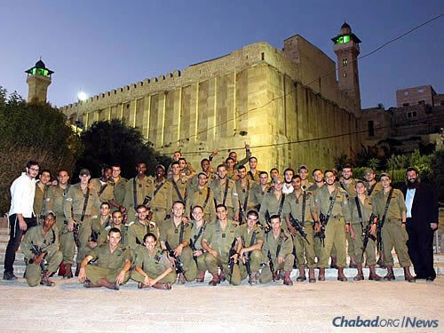 It's been 13 years since Rabbi Danny and Batsheva Cohen moved to Hebron to establish and direct what is now the Chabad House at the Ma'arat Hamachpelah, the Cave of the Patriarchs. They serve local residents, tourists and soldiers of the Israel Defense Forces stationed there for a time.