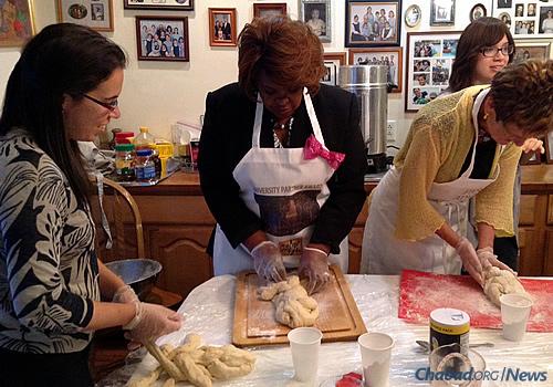 Braiding the dough