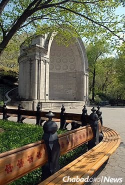 On the first day of Rosh Hashanah, hundreds will gather in New York City's Central Park to hear the blasts of the shofar at the Naumberg Bandshell. (Photo: Sara Cedar Miller/Central Park Conservancy)