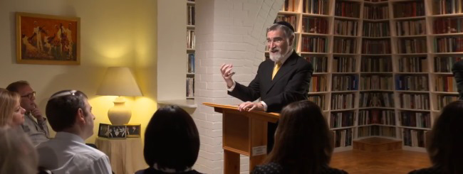 The Chabad.org Blog: Join Us in Praying for (and Learning From) Rabbi Sacks