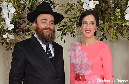 Rabbi Eliyahu and Chanie Canterman