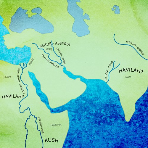 Where Are the Four Rivers that Come from Eden? - Parshah Focus - Parshah