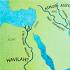 Where Are the Four Rivers that Come from Eden?