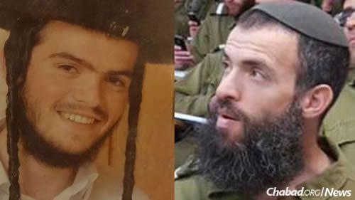 Aharon Benet, 22, of Beitar Ilit, left, and Rabbi Nehemia Levi, 41 of Jerusalem, were killed in the attack.
