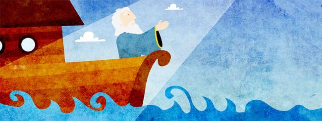 נח: סיכום פרשת נח: המבול ש(כמעט) השמיד את העולם