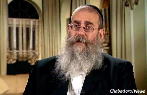Rabbi Aharon Eliezer Ceitlin (Photo: JEM)