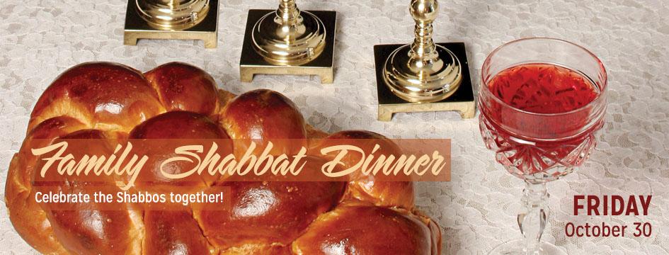 Friday Night at Chabad