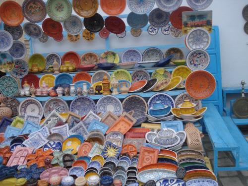 העיר קירואן הפכה למרכז תורני-יהודי. בתמונה: חנות בעיר קירואן כיום (צילום: ויקיפדיה)