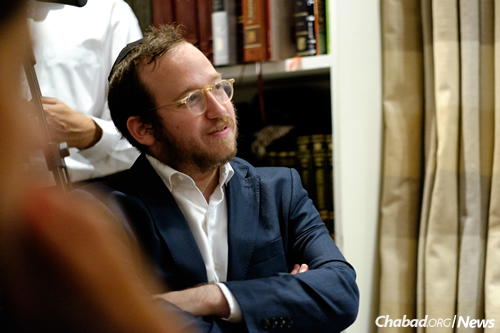 """Rabbi Mendel Kalmenson, author of """"A Time to Heal: The Lubavitcher Rebbe's Response to Loss and Tragedy"""""""