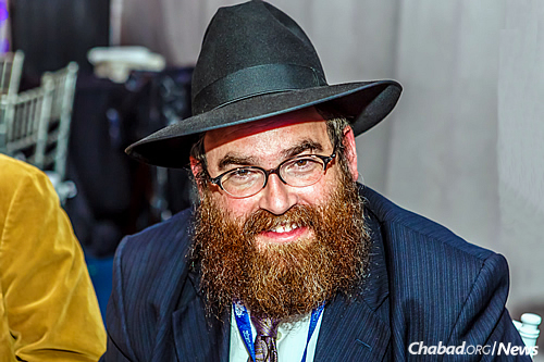 Rabbi Alter Goldstein, associate director of the Chabad House of Ann Arbor, Mich. (Photo: Eliyahu Parypa/Chabad.org)