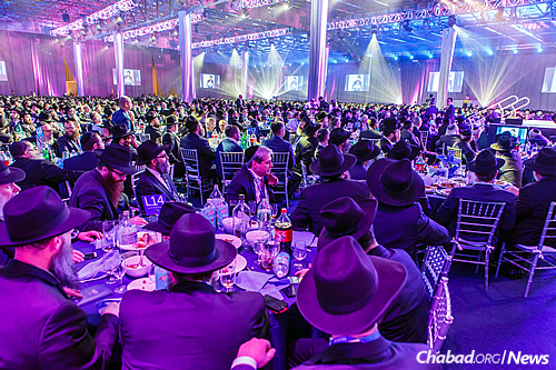 Many of the Chabad-Lubavitch emissaries return year after year to the Kinus, although a percentage come for the very first time. (Photo: Eliyahu Parypa/Chabad.org)