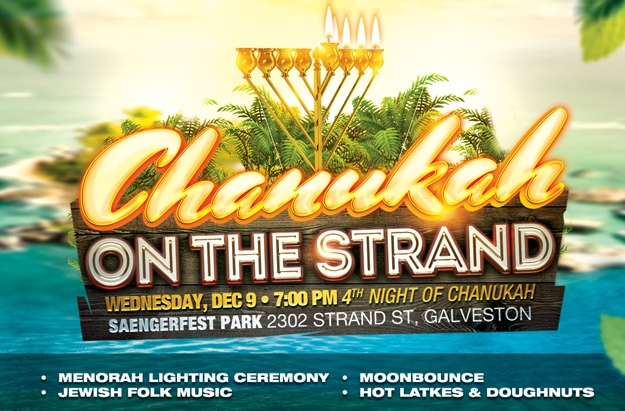 Chanukah On The Strand - Galveston