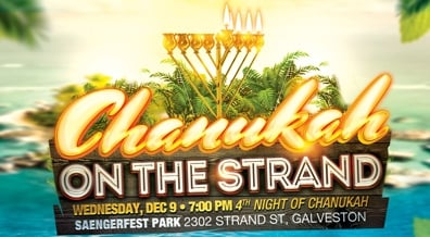 Chanukah On The Strand - Galveston!