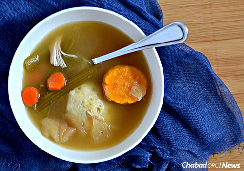 Chicken soup, in all its various forms, is a staple on Shabbat tables and Jewish holidays.
