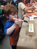 2015 Home Depot Menorah Workshop