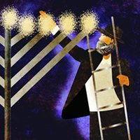Rabbi Lighting Public Menorah (200x200)