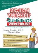 Chanukah Workshop at Bunnings!