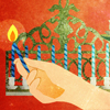 The Shammash: Why the Menorah Has a 9th Candle