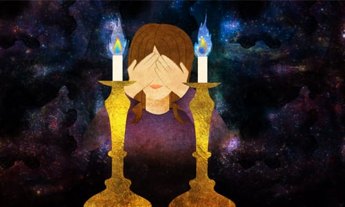 It Was Time To Light Candles To Usher In Shabbat. As I Stood There With My  Face Covered, Tiny Tears Gathering In The Corners Of My Eyes, I Said A  Silent ... Design Ideas