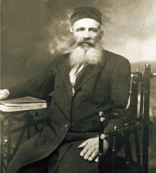 Eliézer Paltiel, grand-père de l'auteur