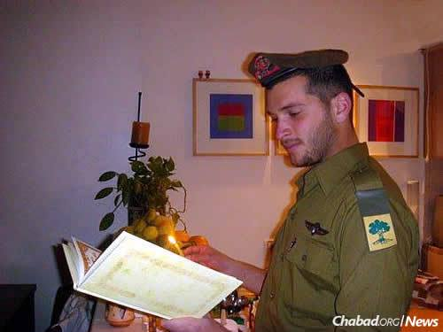 Alon Bakal fulfilled his military service as part of the Israeli Defense Forces' Golani brigade.