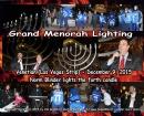 Menorah Lighting at The Venetian Hotel Chanukah 5776