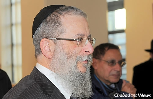 "Rabbi Chaim Shneur Nisenbaum, a spokesman for Chabad in France, thought that perhaps the community leader ""spoke under the shock of the event, and didn't think much about it."" For Jews to give up their kipahs, he continued, ""would be like handing an easy victory to the terrorists."""