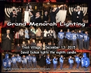 Tivoli Village Annual Menorah Lighting 5776 ~ 2015