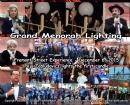 Grand Menorah Lighting on Fremont St.