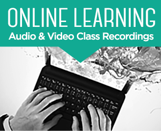 Online Learning - Audio and Video Class Recordings