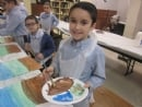 4th Grade Tu Bshvat Paintings
