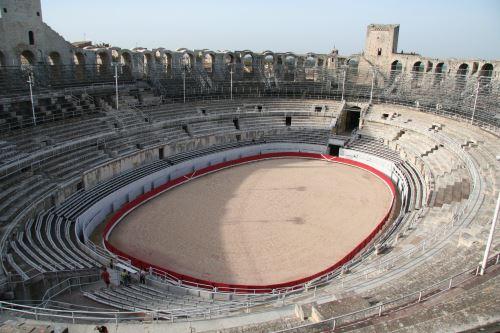 האמפיתיאטרון הרומאי מתקופת חורבן בית המקדש
