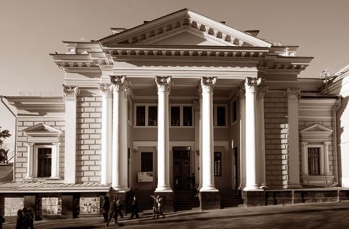 The Great Choral Synagogue of Moscow
