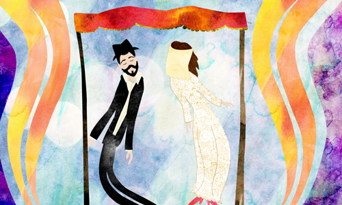 A Traditional Jewish Wedding Is Tapestry Woven From Many Threads Biblical Historical Mystical Cultural And Legal Carried One Generation