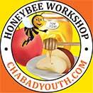 Honeybee sticker size.jpg