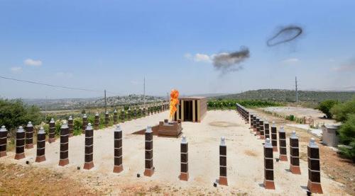 """ה""""משכן"""" שהוקם באריאל"""