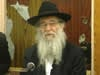 R' Nachman Schapiro Teaches a Purim Sicha (Yiddish)