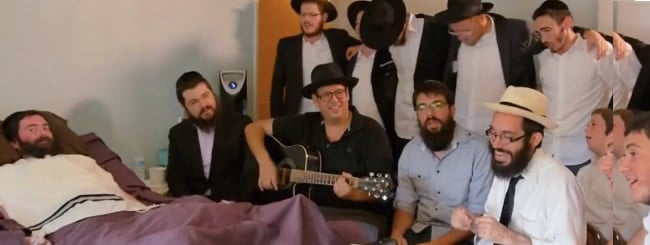 Viral Music Video Shows Rabbi With ALS Is Still a 'Master Communicator'
