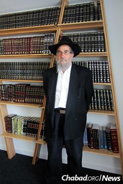 Scheiman has spent decades working with Jewish inmates.