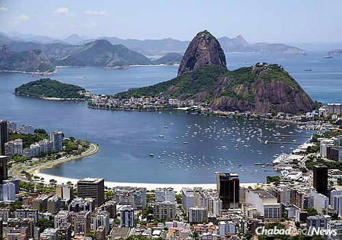 Rio de Janeiro—the site of the 2016 Summer Olympics—has long been one of the most visited places in South America, known for its crescent-shaped beaches and dramatic Sugarloaf Mountain. (Photo: Wikimedia Commons)