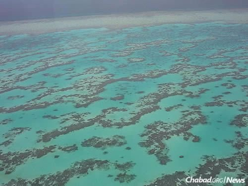 The Great Barrier Reef, which extends along most of Queensland's coastline. (Photo: Wikimedia Commons)