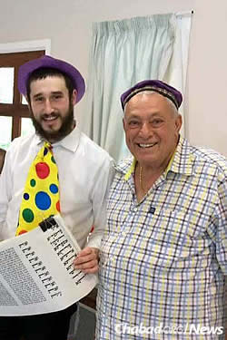 The Rubins arrived in March; right away, they hosted a Purim party for Jewish residents and visitors.