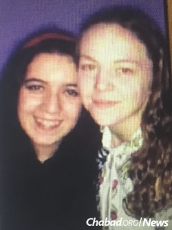 Rivkah Moshe, left, and Brocha Katz were found on Sunday in a heavily forested swampland after going missing on Saturday afternoon.
