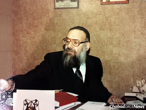 "The rabbi was a universally respected figure in the Springfield Jewish community. He is described by the many who knew him as a ""scholar"" and a ""gentle soul"" whose non-judgmental approach endeared him to thousands."