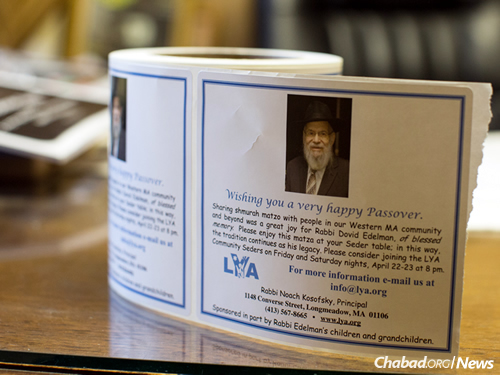 The matzah route continues to grow each year, in honor of the man who started it all. (Photo: Pearl Gabel)