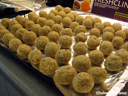 Matzah balls make the menu; the young rabbis come to the country with 300 pounds of kosher-for-Passover supplies.