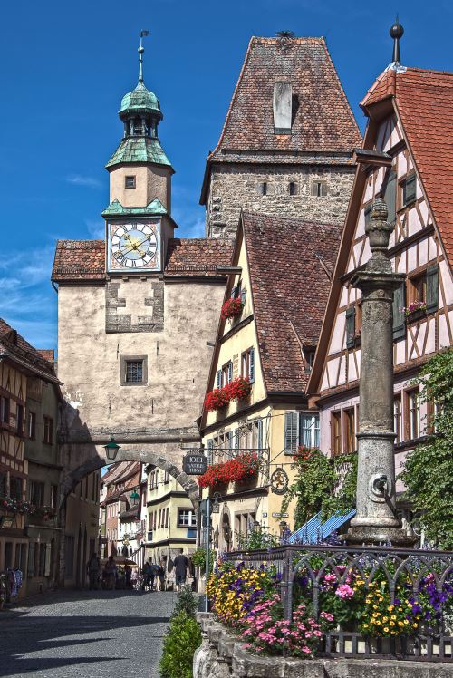 העיר העתיקה של רוטנבורג כיום. צילום: ויקיפדיה