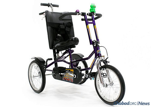 Charlize will receive the Freedom Concepts bike.