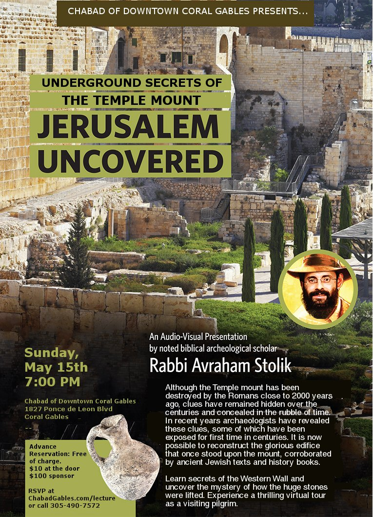 Underground Secrets of the Temple Mount